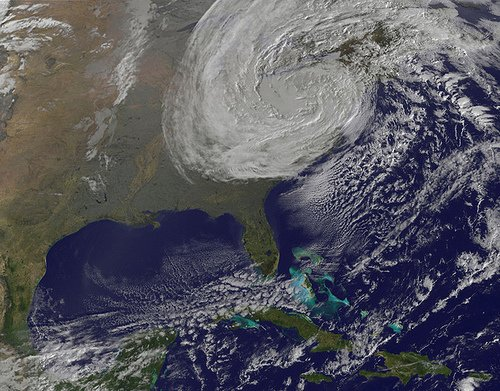 HURRICANE SANDY 10/30/12