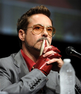 ROBERT DOWNEY, JR. FILM STAR