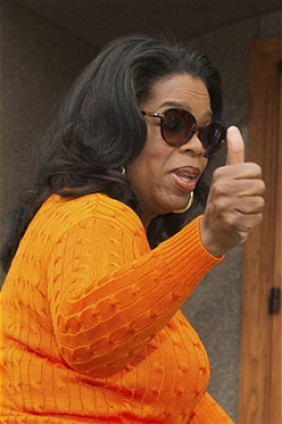 OPRAH WINFREY, SUPER STAR, WEALTHY WOMAN.