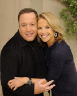 """PRETTY KATIE COURIC (ON RIGHT) FORMER HOST OF NBC """"TODAY"""" SHOW AND NOW STAR OF HER OWN SHOW ON ABC, """"KATIE."""""""