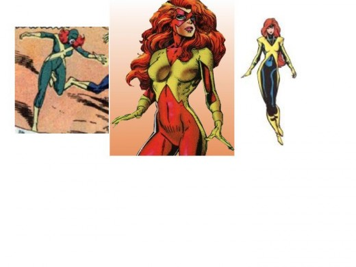 Jean Grey X-Factor Costumes