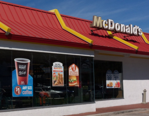 The real competition for McDonalds isn't Burger King or Wendy's . . .