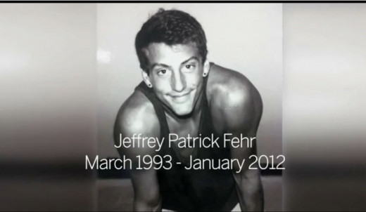 Jeffrey Fehr killed himself after years of being bullied because he was openly gay