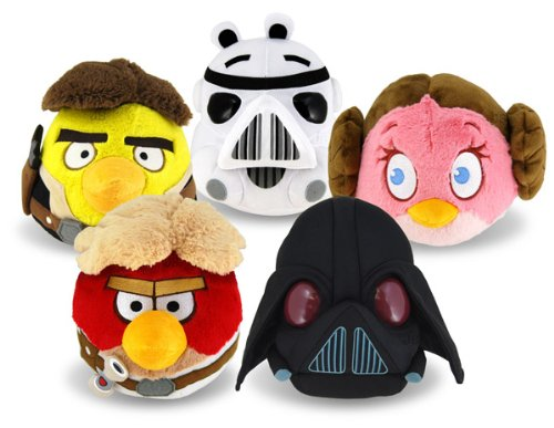 Angry Birds Star Wars Plush Pieces