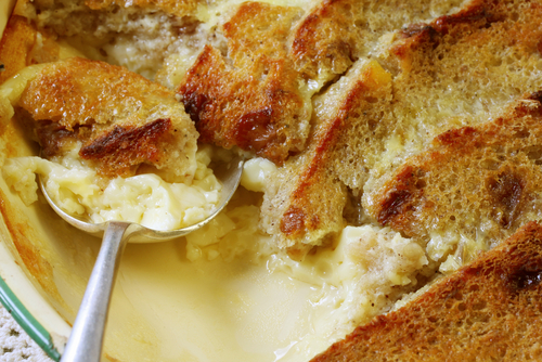 Bread and Butter Pudding. Image:  © Robyn Mackenzie|Shutterstock.com