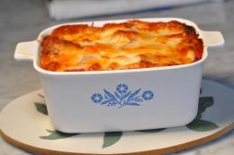 """Mazzumurru (Bread """"lasagne"""" from Càgliari) Image: © Siu Ling Hui"""