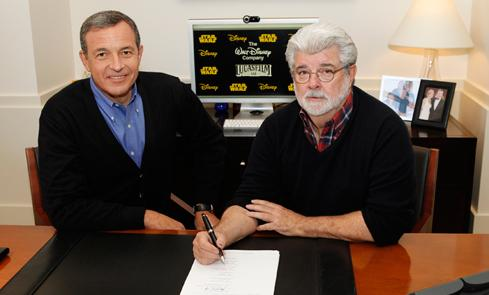 George Lucas sells Lucasfilm to Disney