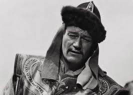 Genghis Khan portrayed by John Wayne in 'The Conqueror' (1956)