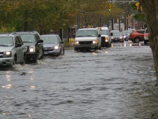 This was after mega storm hurricane Sandy in Long Island NYC in October 2012