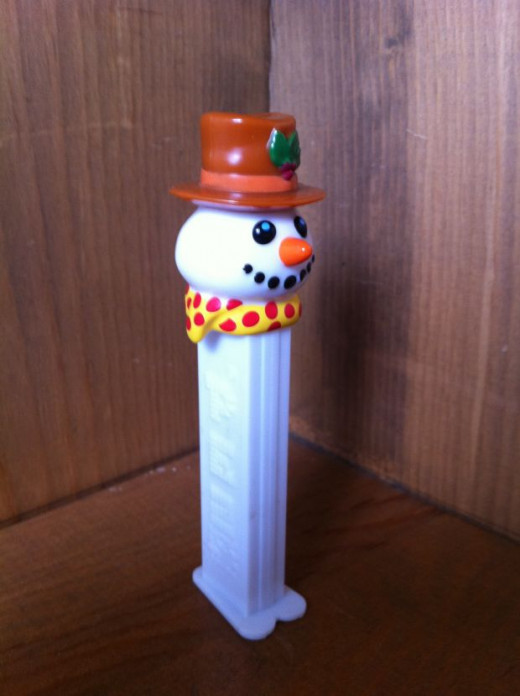 Snowman Pez