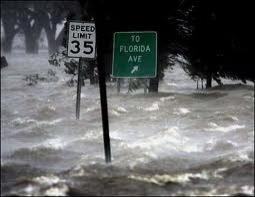 Hurricane Katrina in New Orleans, Louisiana       Courtesy of : I Stock Photos