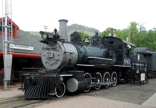 An early D&RG locomotive