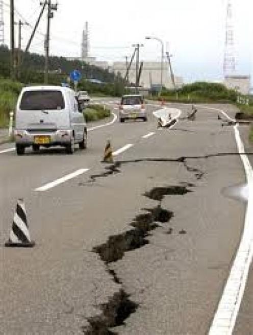 Earthquake Damage in Japan       Courtesy of I Stock Photo