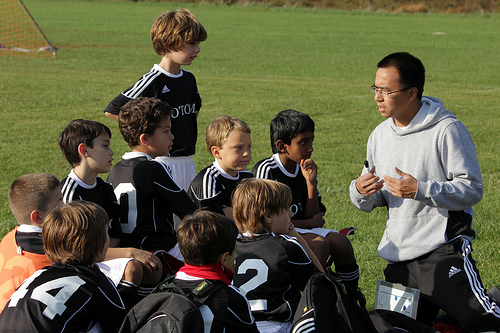 Coaches are positive male role models for boys.