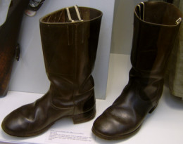 World War I era jackboots.