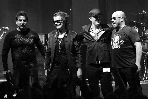 BLACK COUNTRY COMMUNION (Belgium 2011)  (Derek Sherinian, Glenn Hughes, Joe Bonamassa, Jason Bonham)