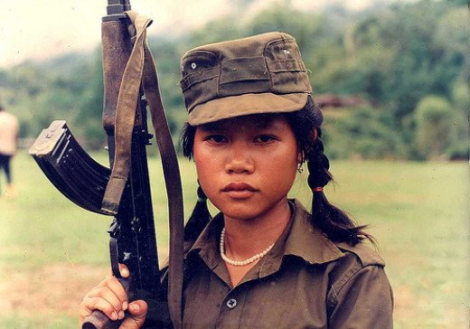 In many places, young children are forced into the army and are engaged in lethal combat. This is bullying taken to extreme. It matters little if the young warriors are boys or girls.