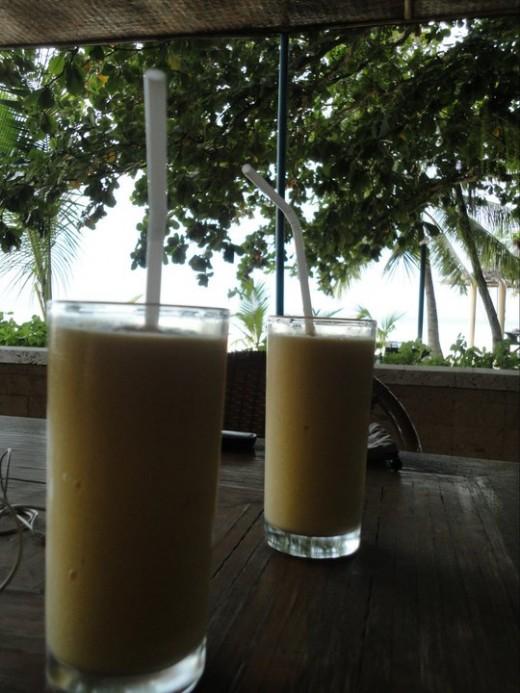 Mango shake is mandatory when we visit the Visayas