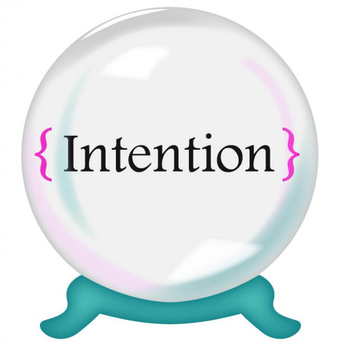Live a life of intention!