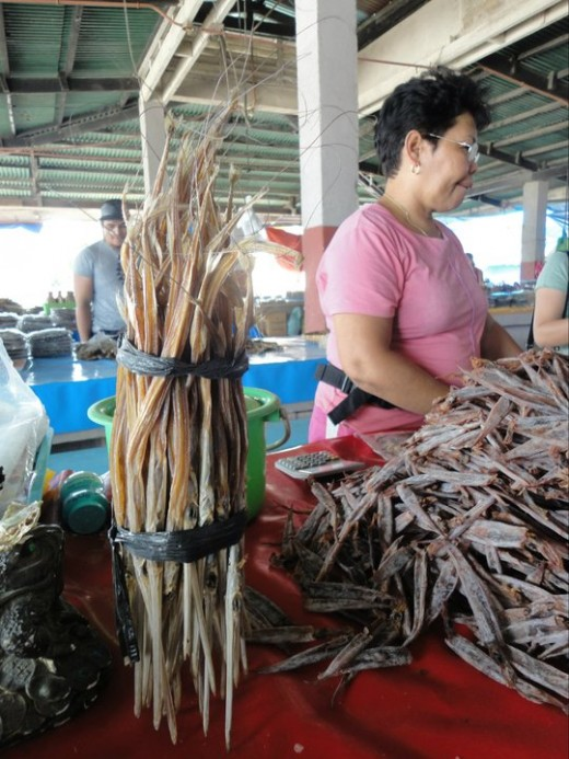 Dried fish for pasalubong