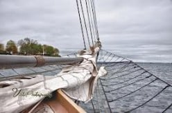 Sailing Galway for New England