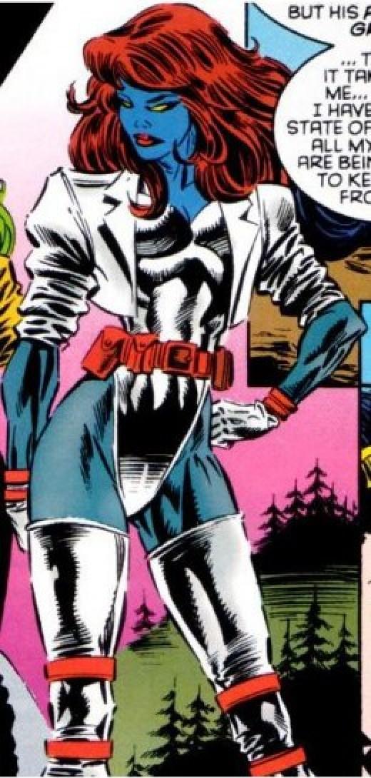 Mystique X-Factor Costume