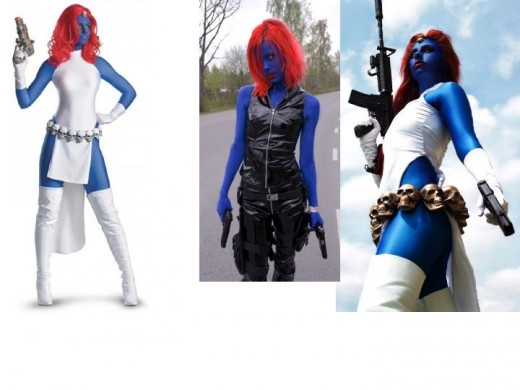 Mystique Cosplay Costumes