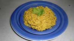 Spaghetti in coriander masala recipe