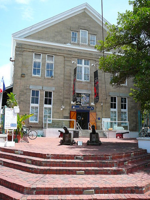 The Mel Fisher Maritime Heritage Museum in downtown Key West, Florida was photographed by Marc Averette on June 23, 2008.