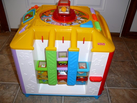The Fisher-Price Incrediblock is a great toy for older babies and toddlers.