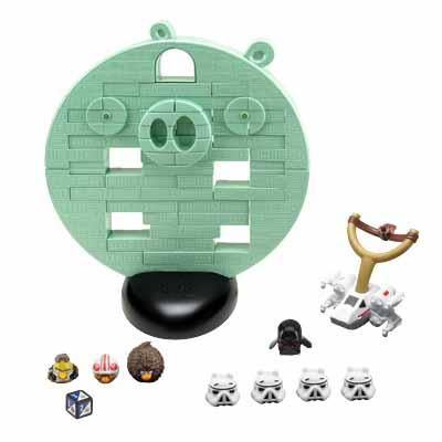 Angry Birds Star Wars Death Star Jenga Game