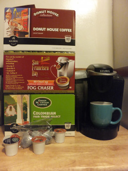 Buy K-Cups in bulk to save money.