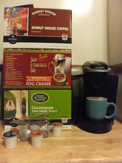 Buy K-Cups in bulk to save money.
