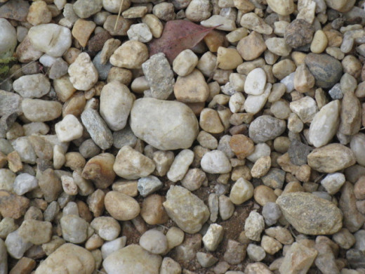 We are all just pebbles in the stream of life.