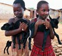 Children Receive the Gift of a Pair of Goats