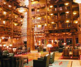Lobby, Disney Wilderness Lodge