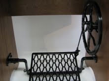Heavy powder coated treadle.