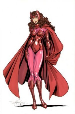 Classic Scarlet Witch Costume