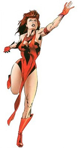 Scarlet Witch Force Works Costume