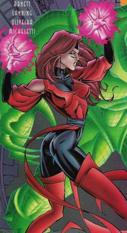 Scarlet Witch Red and Black Costume