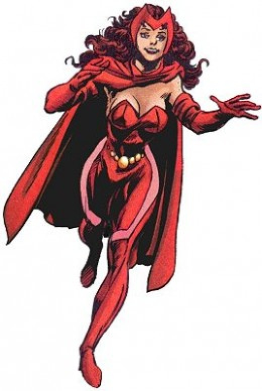 Scarlet Witch Classic Costume Update
