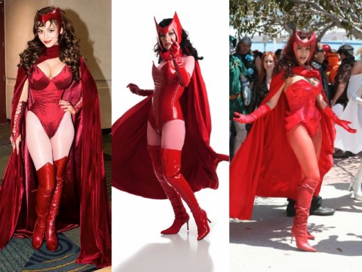 Classic Scarlet Witch Cosplay Costumes