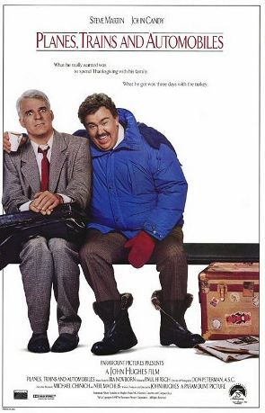 """""""Planes, Trains, and Automobiles"""" poster"""