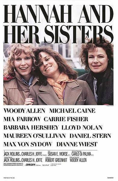 """""""Hannah and Her Sisters"""" poster"""