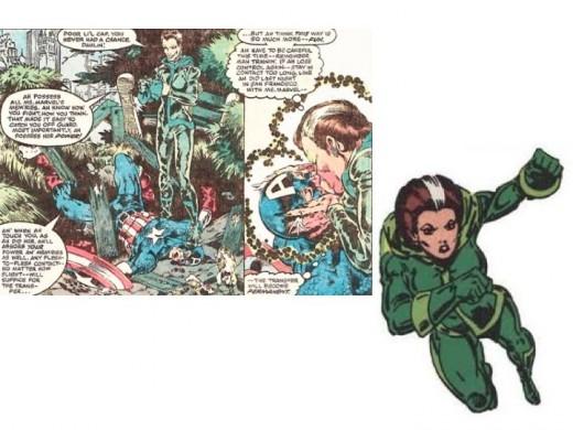 Rogue Original Costume in Avengers Annual #10