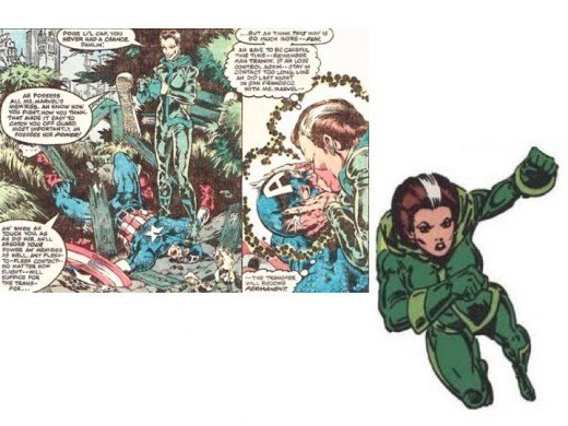 Rogue Original Costume in Avengers Annual #10