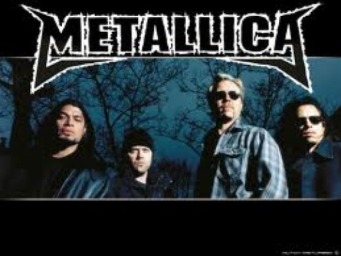Metallicsa is one of the best Metal bands of the 80's as well as the 90's.  Some of their hits include: Sad But True and One.