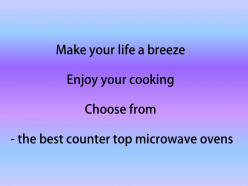Best Counter Top Microwave Ovens