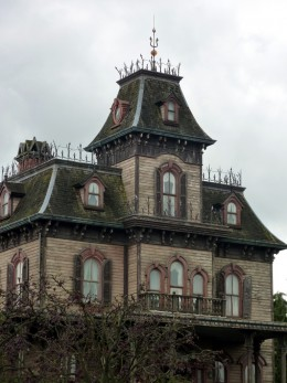 Haunted houses always seem to be old mansions like this one, but our home is a 1960s ranch. Could it be haunted, too?
