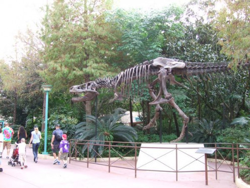 A replica of 'Sue', the most complete T-Rex skeleton ever discovered
